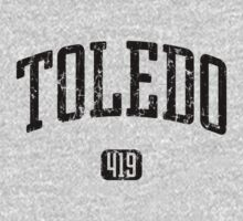 Toledo 419 (Black Print) Kids Clothes