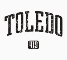 Toledo 419 (Black Print) One Piece - Short Sleeve