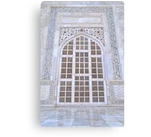 At Taj Canvas Print