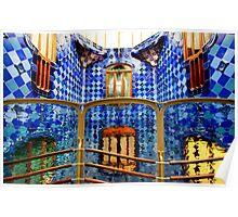 Gaudi Palace Barcelona Poster