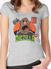 Dizilla Women's Fitted Scoop T-Shirt