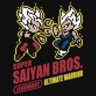 Super Saiyan Bros by Baznet
