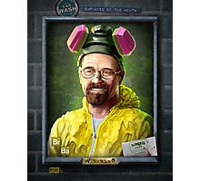 Employee of the Month - Walter White Photographic Print