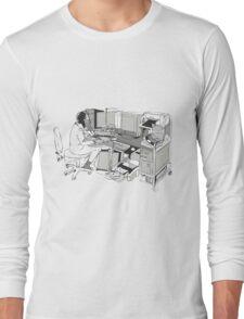 COMPUTER OFFICE WORKER Long Sleeve T-Shirt