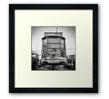Vintage Streetcar Trolley 1081 Framed Print
