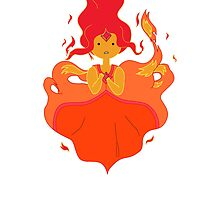 Adventure Time - Flame Princess by littlegreenhat