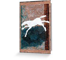 WHITE HORSE FISH Greeting Card