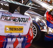 MG6 BTCC / Ford Fiesta WRC by Venusta