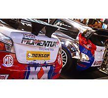 MG6 BTCC / Ford Fiesta WRC Photographic Print