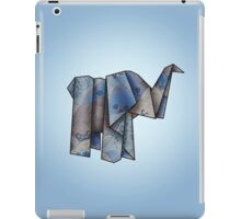 Origamiphant iPad Case/Skin