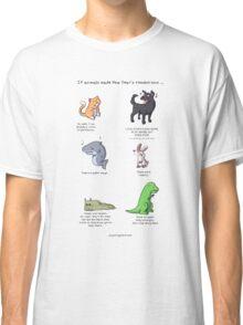 Animal Resolutions Classic T-Shirt