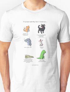 Animal Resolutions Unisex T-Shirt