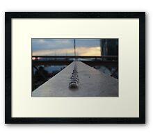 Sunset in Brooklyn  Framed Print