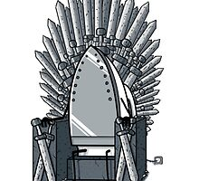 Iron Throne.  by haqstar