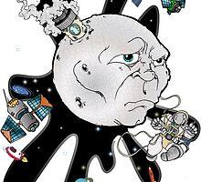 Man in the Moon by Skree