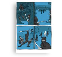 Ninja Way Canvas Print
