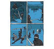Ninja Way Photographic Print