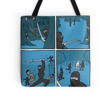 Ninja Way Tote Bag