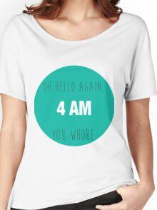 4 AM Women's Relaxed Fit T-Shirt