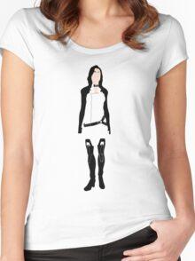 Minimalist Miranda Women's Fitted Scoop T-Shirt