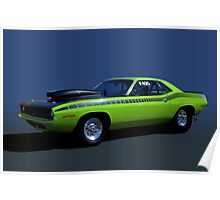 1970 Plymouth Barracuda Dragster Poster