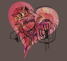 Sora, King of Hearts (red)  by jojoEDW