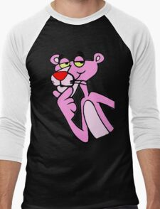 Pink Panther Men's Baseball ¾ T-Shirt