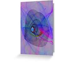 cosmic turn Greeting Card