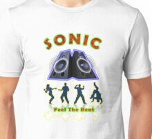 SONIC Designer tees and stickers Unisex T-Shirt
