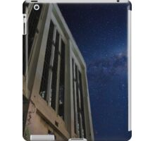 Abandoned power station in the dark of night iPad Case/Skin