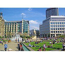 Sheffield Peace Garden Photographic Print