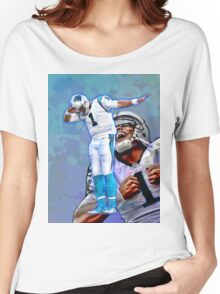 Cam Newton Dab #2 Women's Relaxed Fit T-Shirt