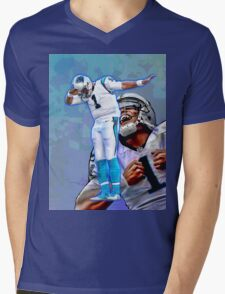 Cam Newton Dab #2 Mens V-Neck T-Shirt