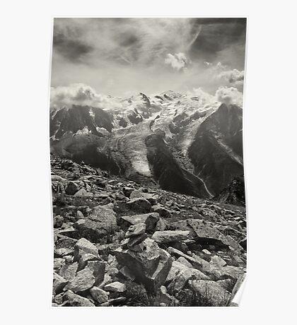 Mont Blanc Massif Poster