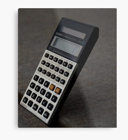 Calculated Move Metal Print