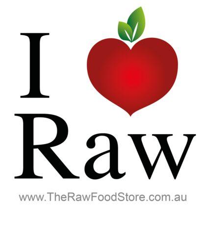 I Love Raw Sticker
