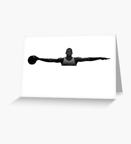 Michael Jordan Wingspan Greeting Card