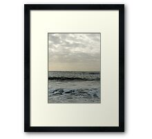 Sea and Sky 3 Framed Print