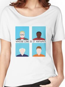 Whose Line is it Anyway? Take Two Women's Relaxed Fit T-Shirt