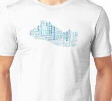 El Salvador mapa-ciudades Unisex T-Shirt