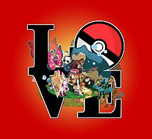 Pokemon Love by hardsign