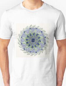 Relaxing Mandala in Water Colors T-Shirt