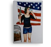 This American Life Canvas Print