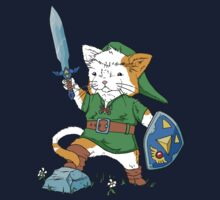 Legend of Kitty Kids Tee