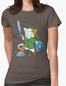 Legend of Kitty Womens Fitted T-Shirt