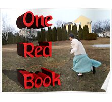 One Red Book - Lillian Poster