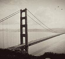 The Historic Golden Gate Bridge by Grant  Davis