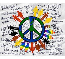 WORLD PEACE 25 Photographic Print