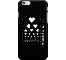 Can you see the love? iPhone Case/Skin