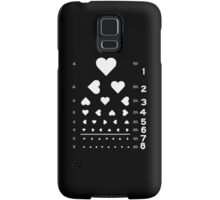 Can you see the love? Samsung Galaxy Case/Skin